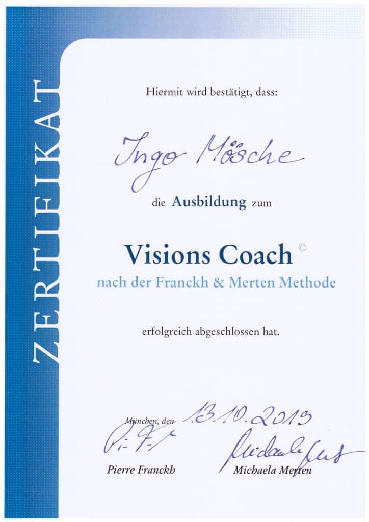 Visions Coach Ingo Mösche